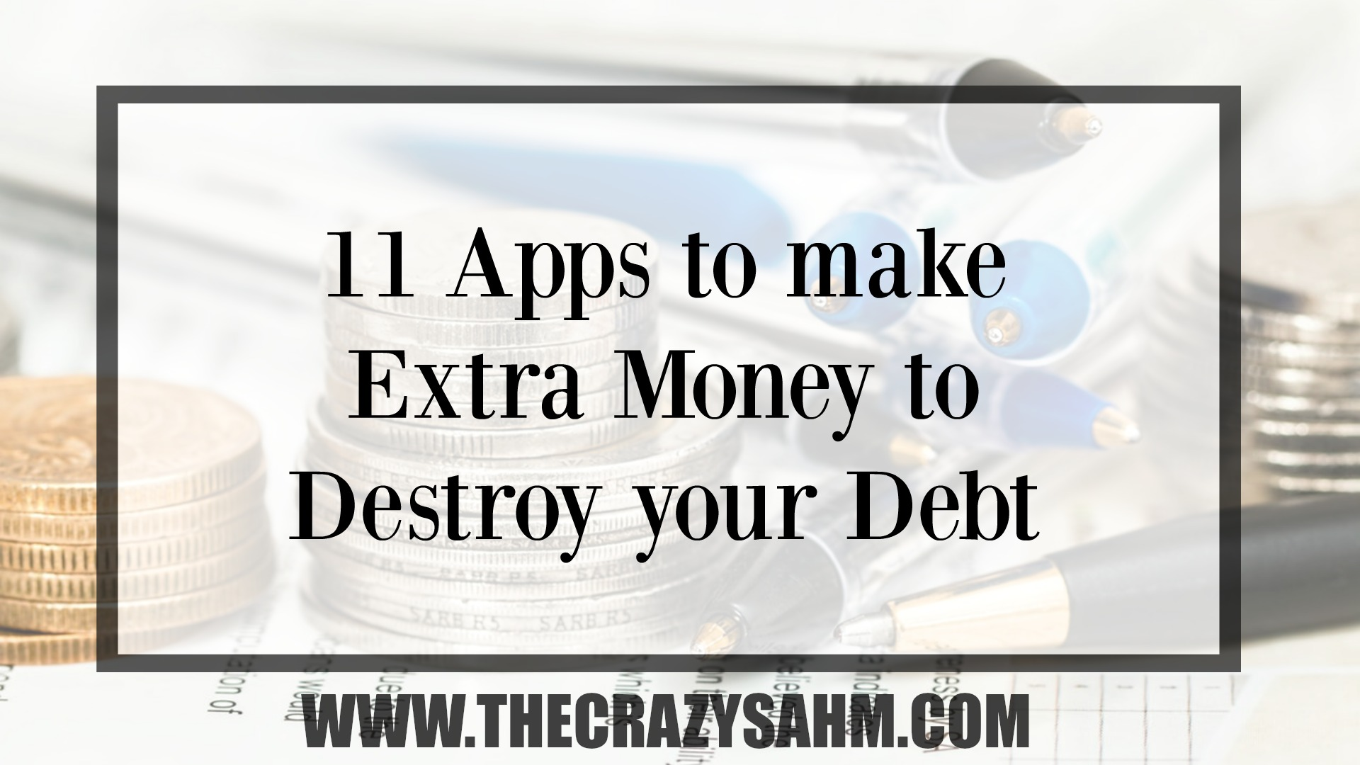 Finding extra money to pay off debt can be rough. Check out these apps to start earning extra money today!