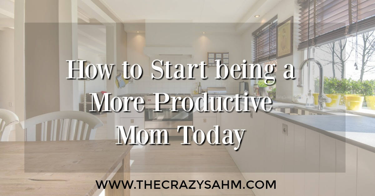 Need help being a more productive mom? Don't worry, we all do. Click here and boost your productivity today!